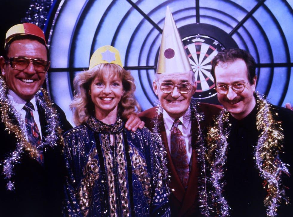 Bullseye television programme December 1992