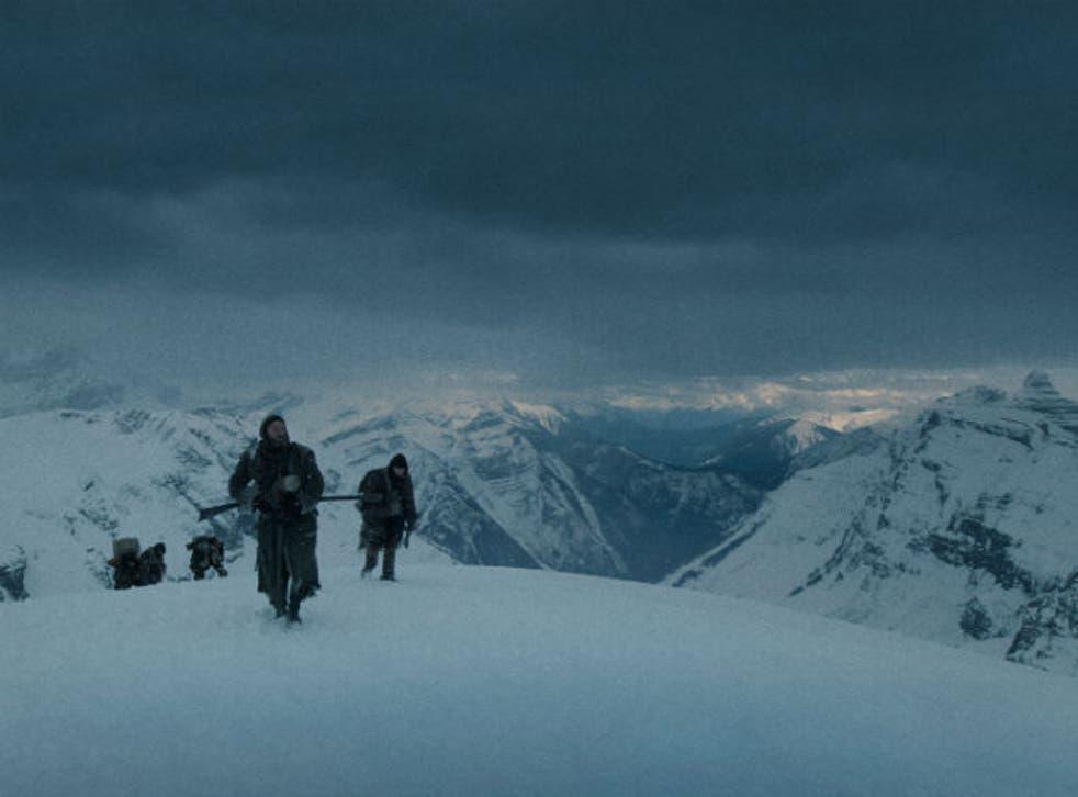 A shot from The Revenant by Emmanuel Lubezki