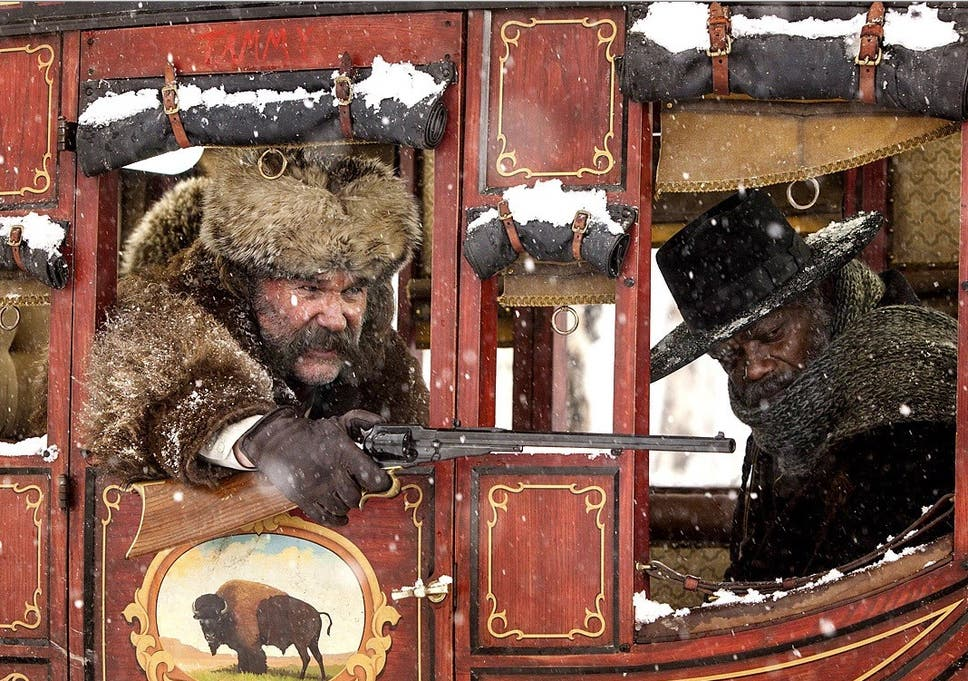 quentin tarantino i think the hateful eight is the best directing