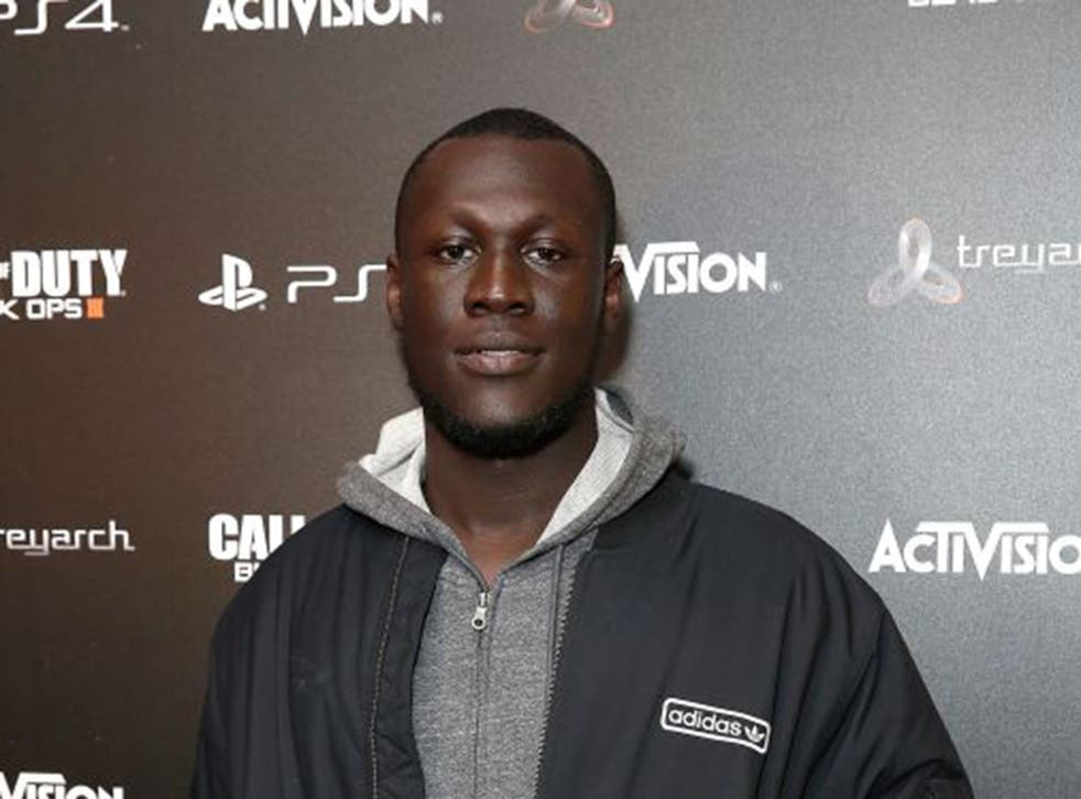 """Croydon Grime MC Stormzy is now a contender to score an unlikely festive chart-topper with """"Shut Up"""""""