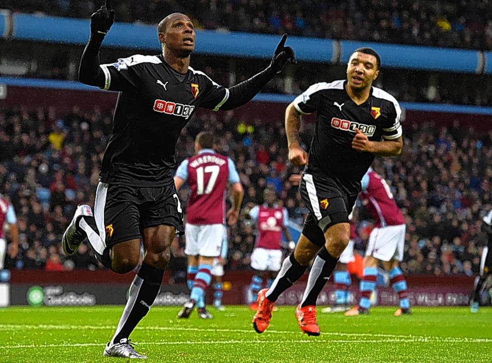 Watford's Odion Ighalo (left) and Troy Deeney work so hard for their team in the 4-4-2 formation and this season it is paying off