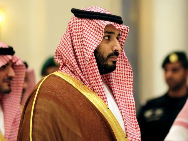 Mohammed bin Salman attends a summit of Arab and Latin American leaders in Riyadh