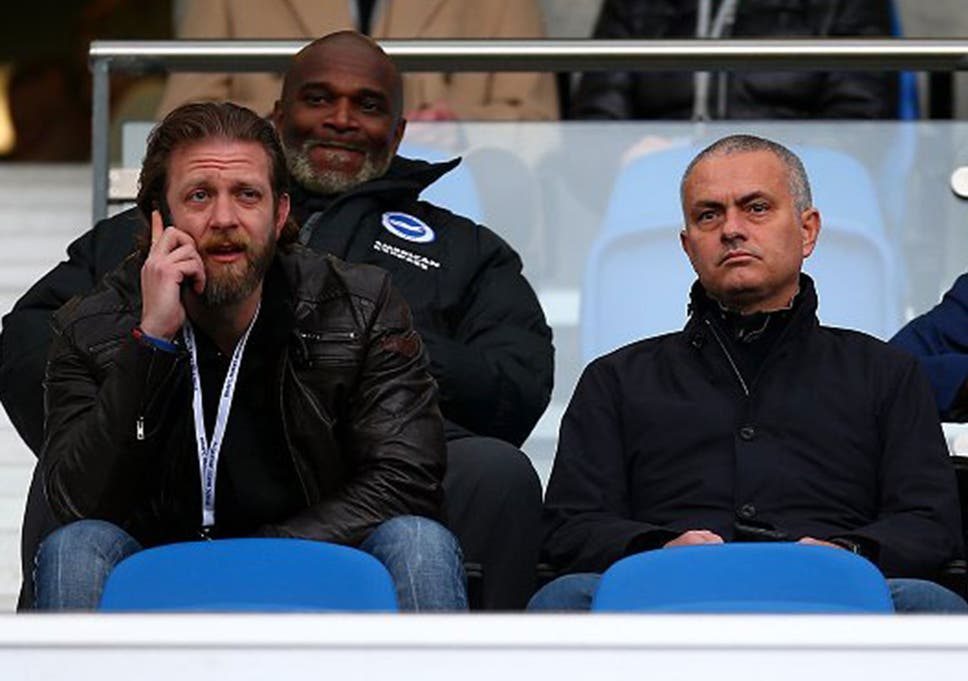 Jose Mourinho Watches Brighton Vs Middlesbrough As Former Chelsea