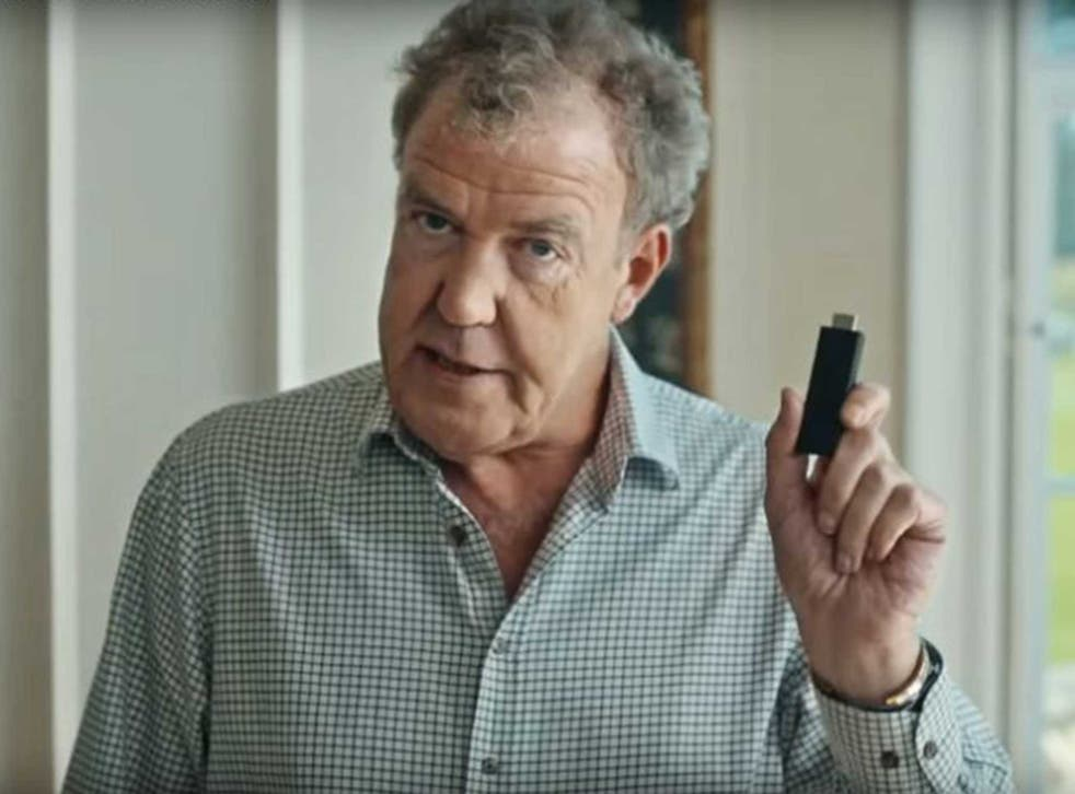 Clarkson in a promotional still for his new show oin Amazon