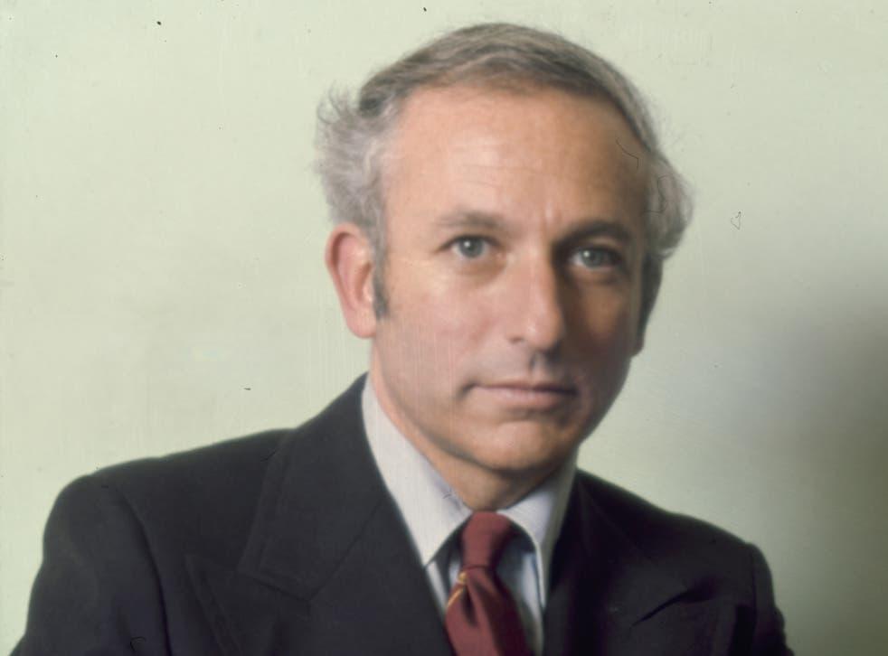 Greville Janner, in 1975.
