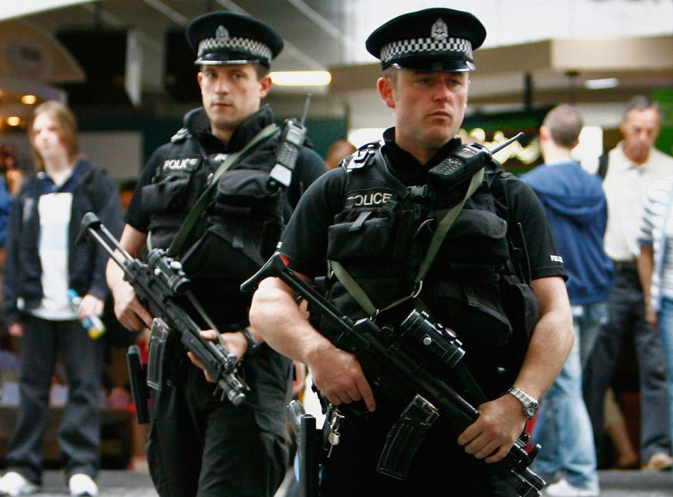 Police leaders said they were concerned about the number of armed officers available to respond to a suicide terrorist attack