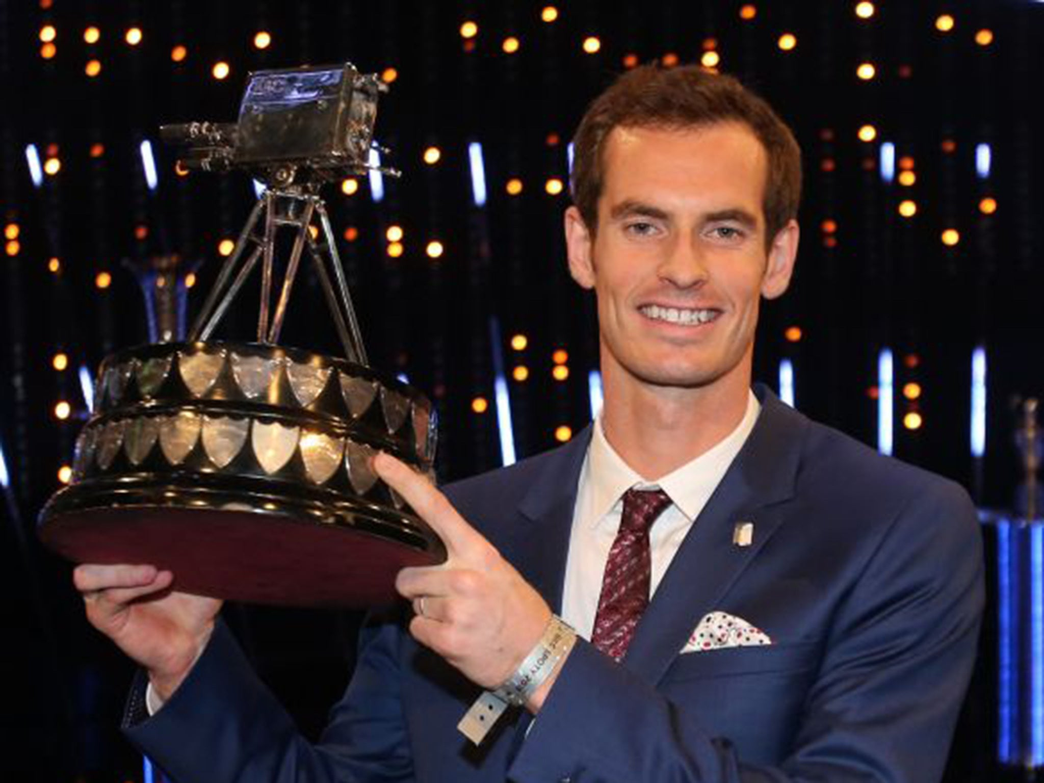 Image result for andy murray sports personality of the year