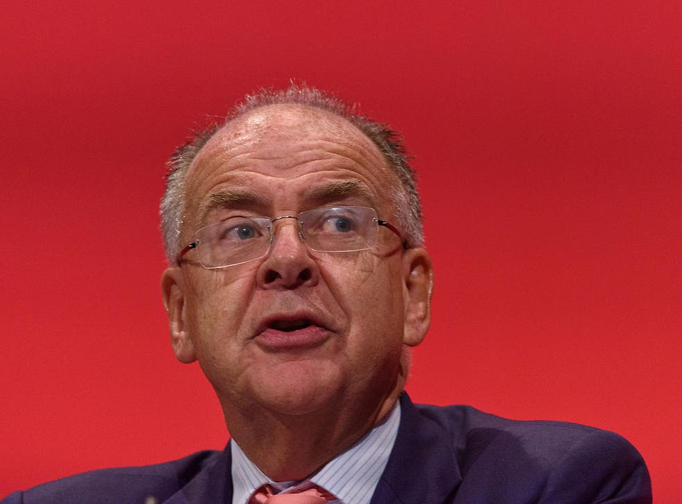 The shadow Justice Secretary Lord Falconer, pictured, said the decision to appoint Sodexo showed that the former Justice Secretary Chris Grayling had been too keen to push through his privatisation programme