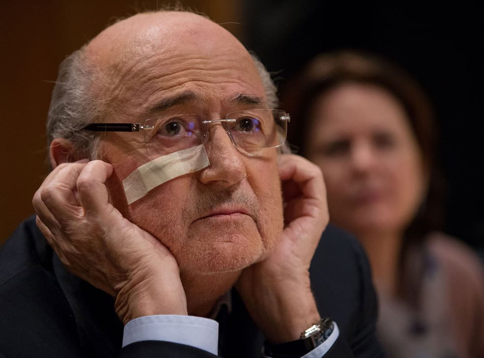 Fifa president Sepp Blatter has been banned from football for eight years by Fifa