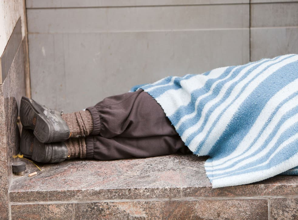 There are 60,000 homeless people in New York as temperatures dip below freezing