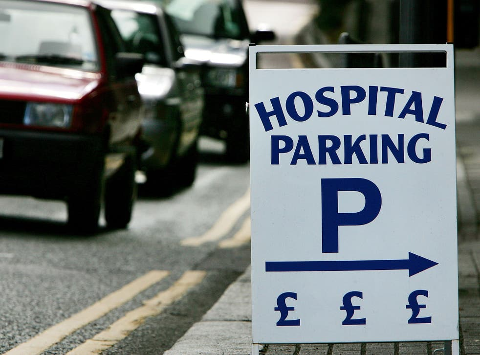 Seven NHS trusts made £3m from parking fees in 2014-15