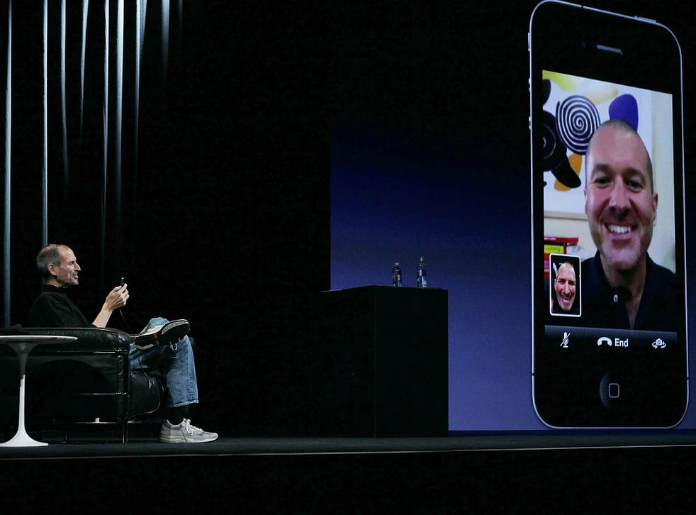 Former Apple CEO Steve Jobs demonstrating FaceTime in 2010. The messaging service uses encryption to ensure that a message can only be received by the person it was sent to, something that the Investigative Powers Bill seeks to ovverride