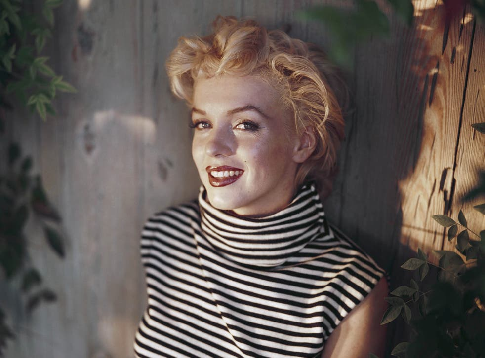 American actress Marilyn Monroe