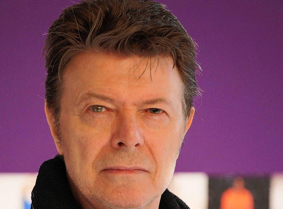 Golden years: David Bowie