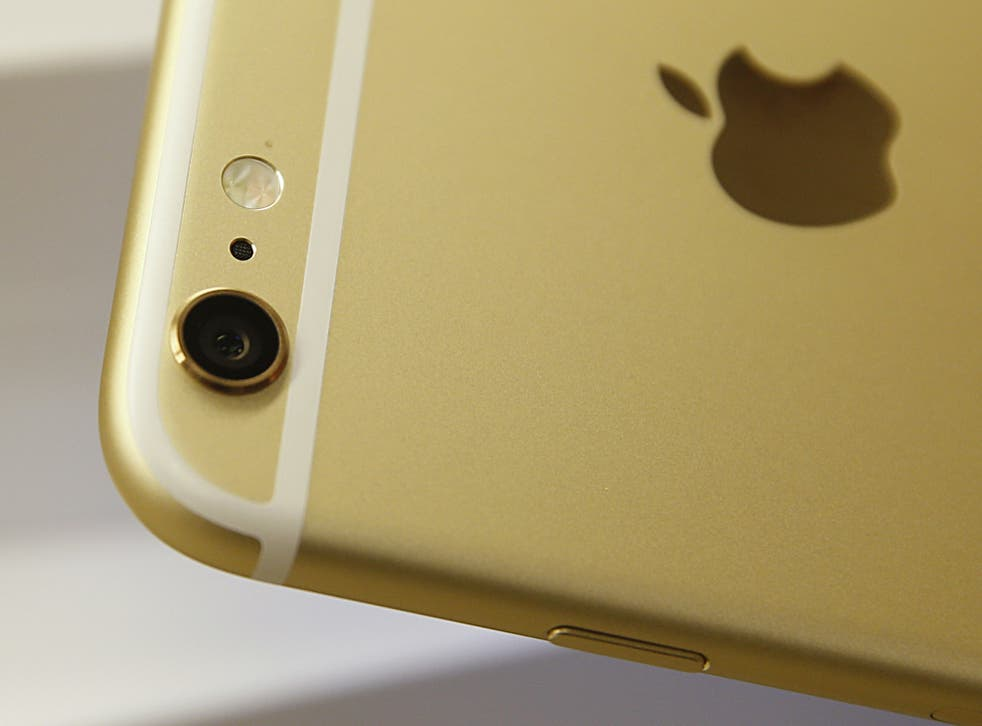 The camera on Apple's recently iPhone 6 Plus device