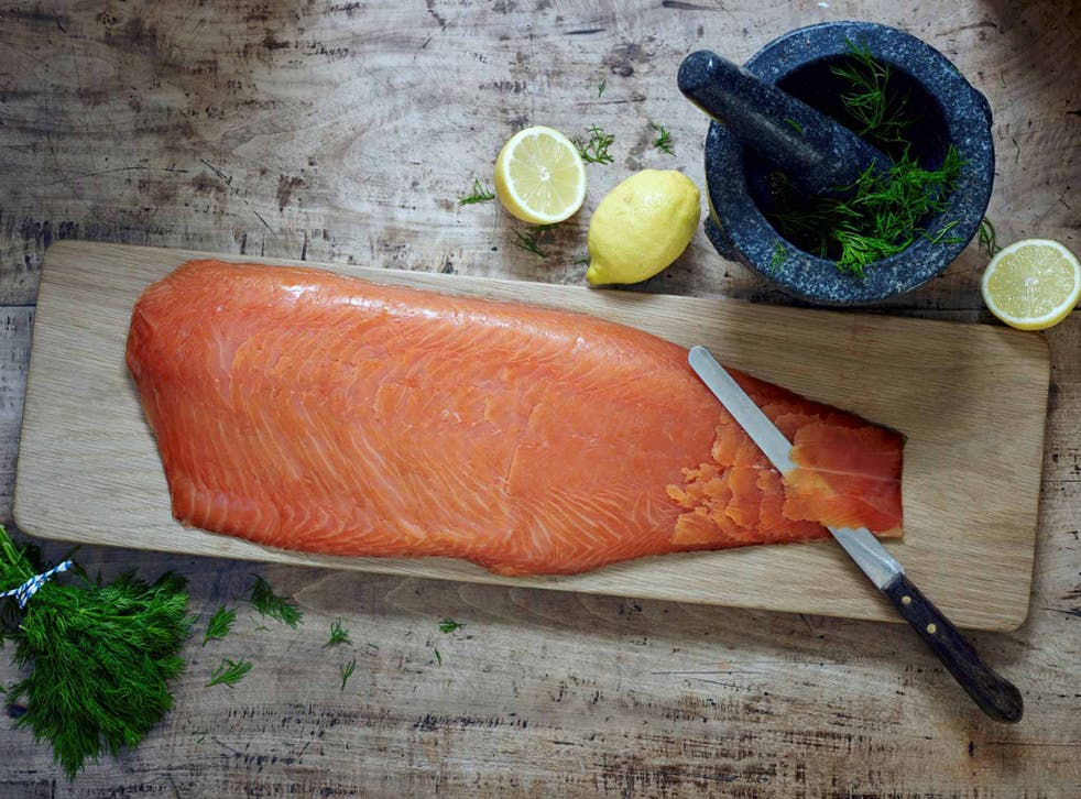 The Scottish way: salmon from Uig Lodge, on the Isle of Lewis
