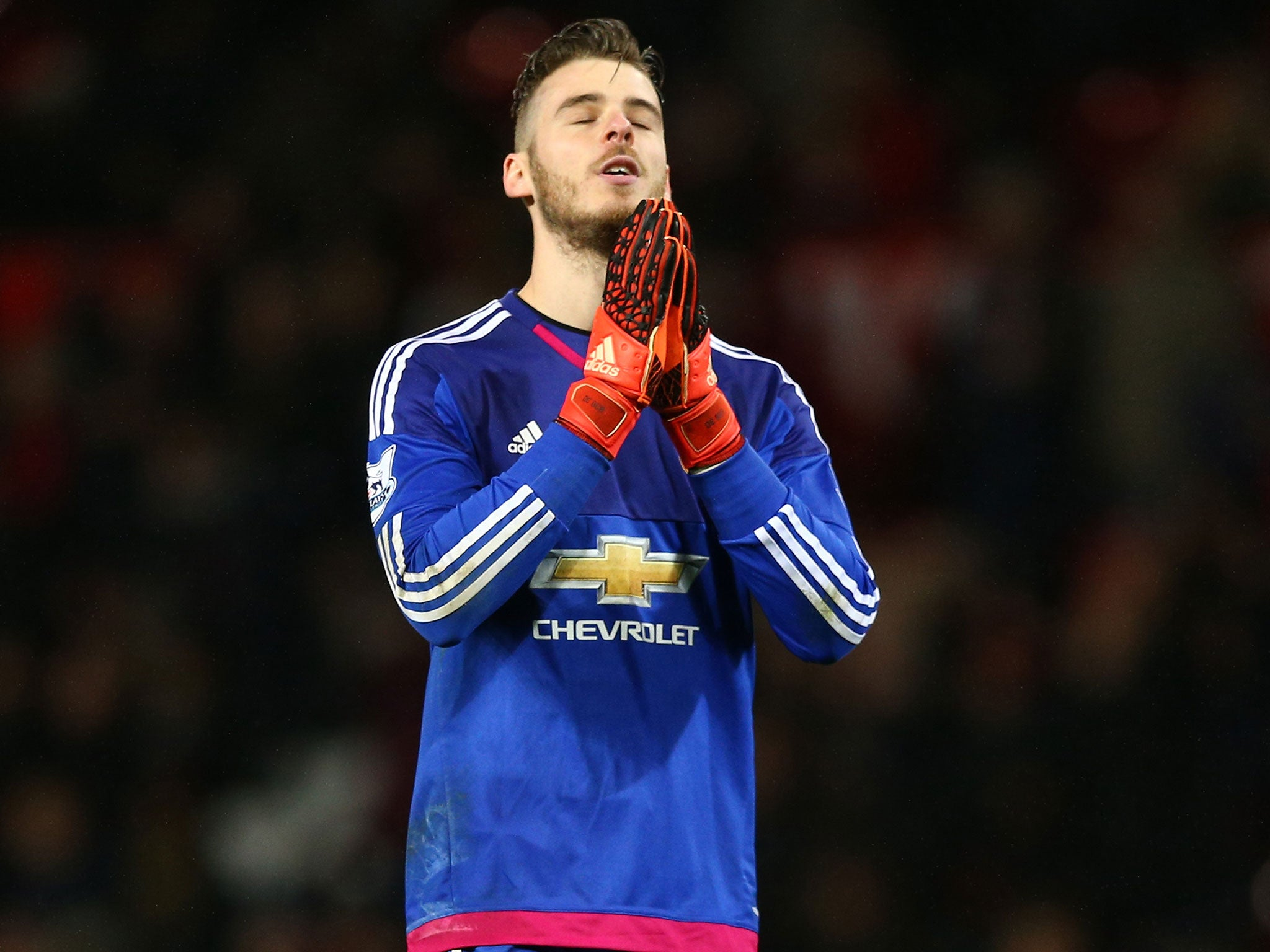David De Gea angry after missing Manchester United s Christmas