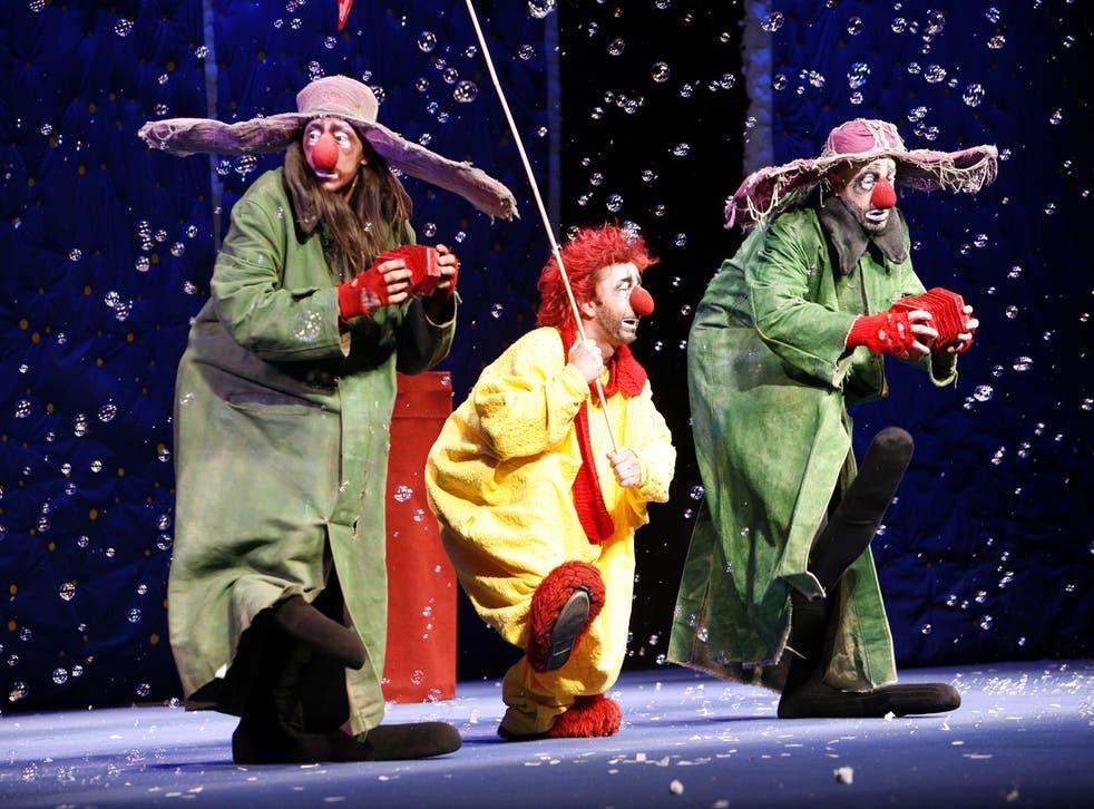 Childlike wonder: Slava's Snow Show / Credit: A Lopez