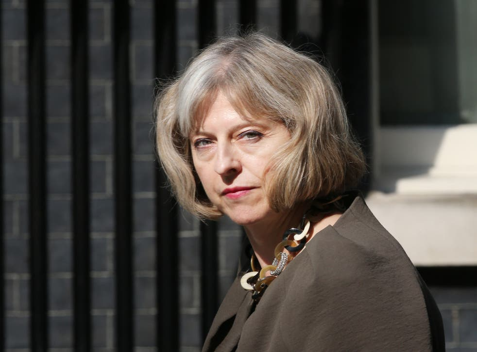 Theresa May, who has taken the lead on proposing the Investigatory Powers Bill