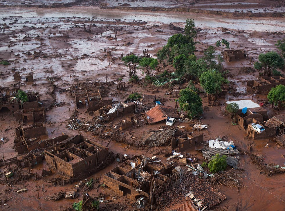 BHP Billiton is facing a fine of £3.4bn over the disaster in Brazil last month at a mine it owns jointly with Vale Felipe