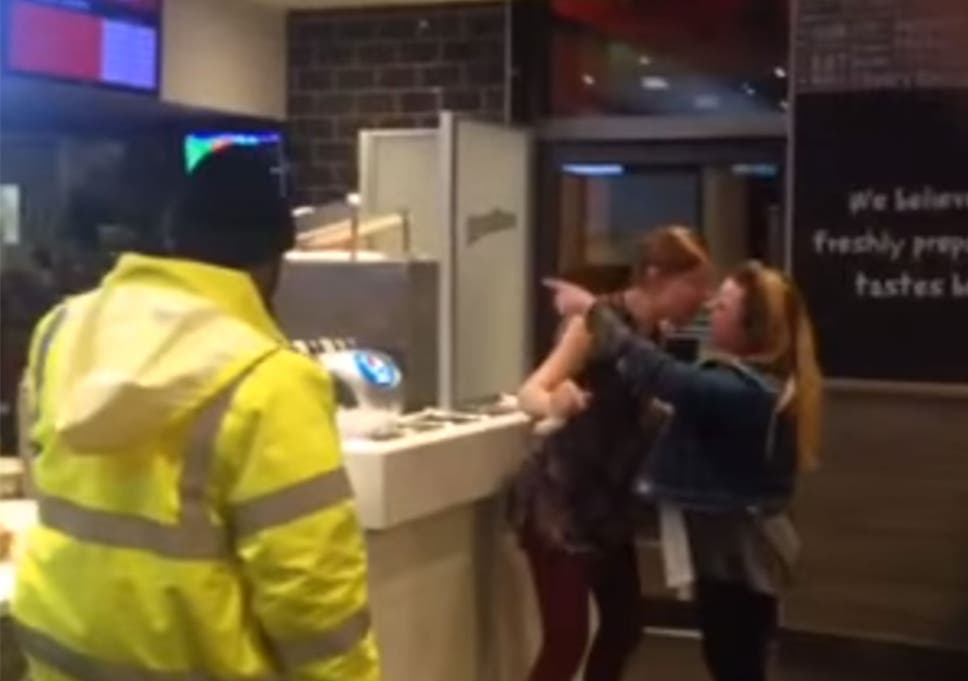Racist Manchester Kfc Rant Woman Caught On Camera Screaming At