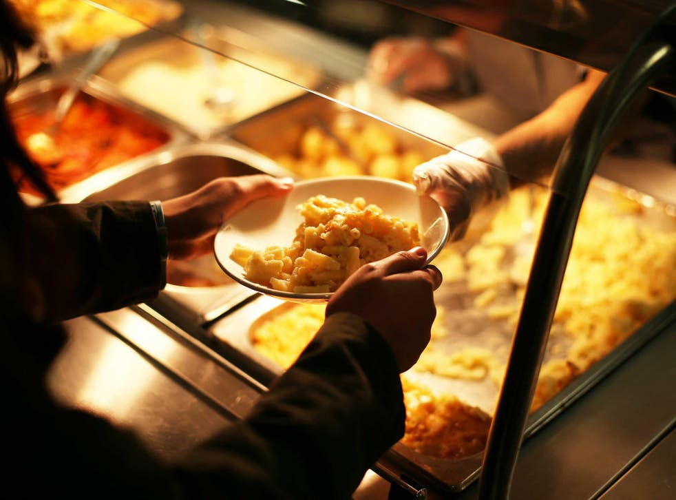 A lunch lady has been fired after giving a school meal to a hungry student would was unable to pay