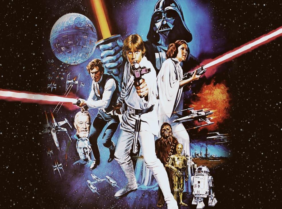 The original Star Wars poster