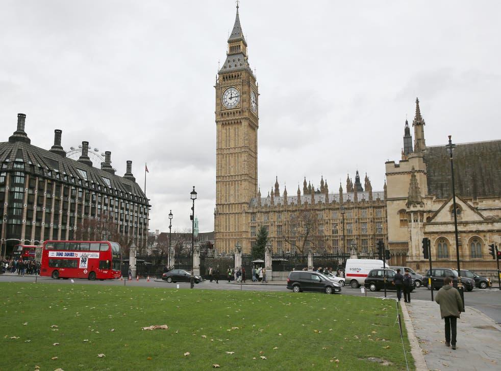 Traffic in Parliament Square