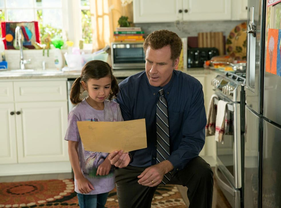 Child's play: Scarlett Estevez and Will Ferrell in 'Daddy's Home'