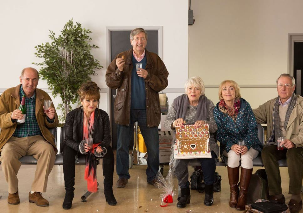 Sharing Christmas Cast.Boomers Tv Review The Gags Were Even More Obvious Than