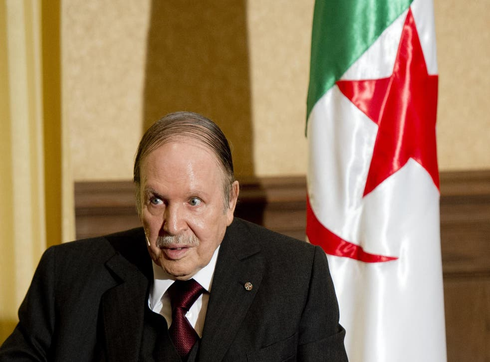 There are concerns Algeria's 78-year-old President Abdelaziz Bouteflika (pictured) may have been ousted in a so-called 'soft coup'