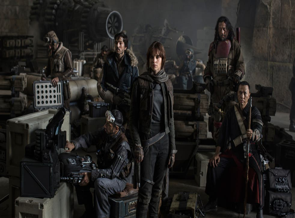 The Star Wars: Rogue One cast