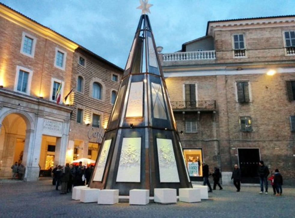 Christmas Tree in Urbino, Sicil