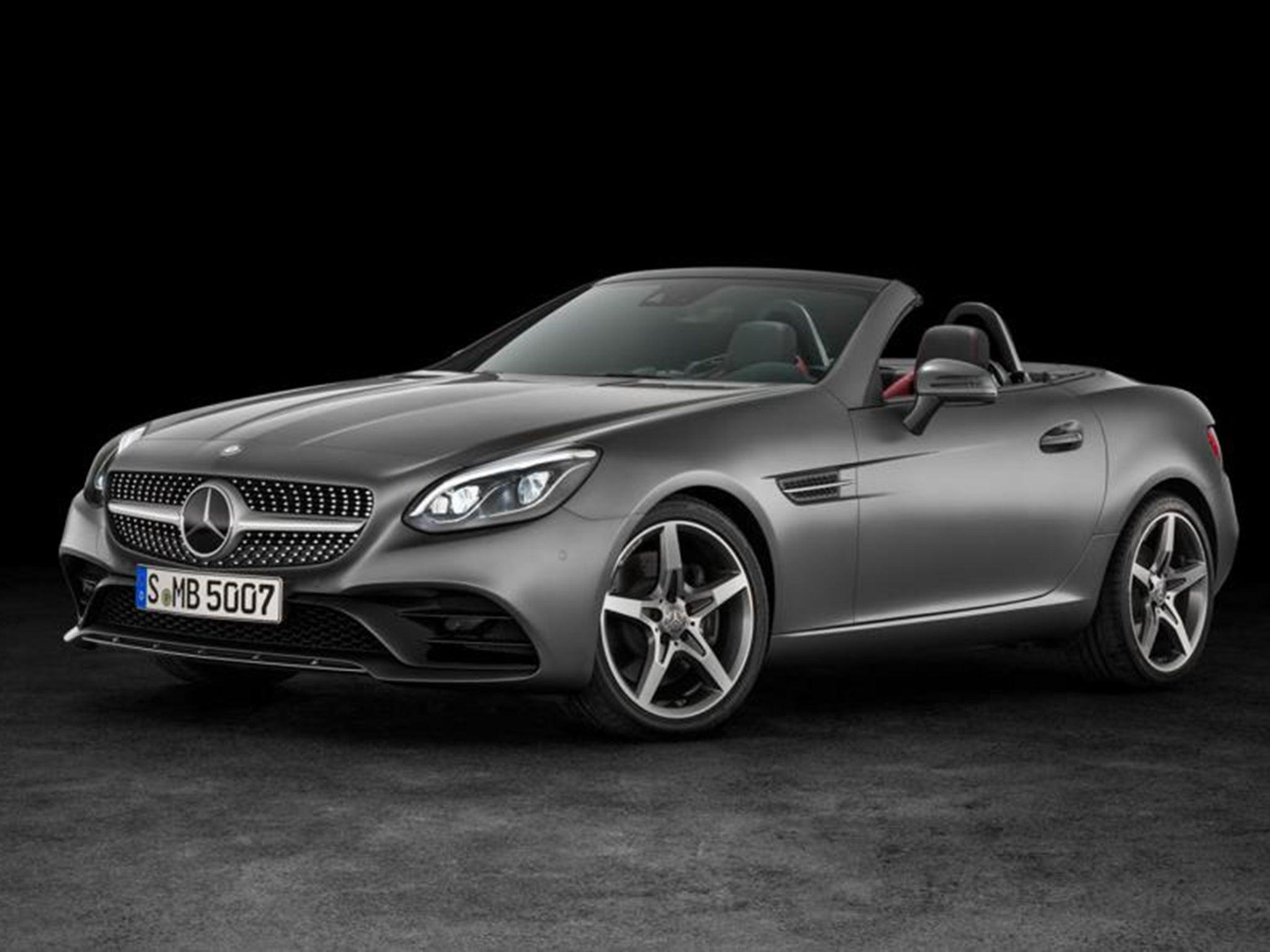 mercedes-benz slk to become slc in spring | the independent