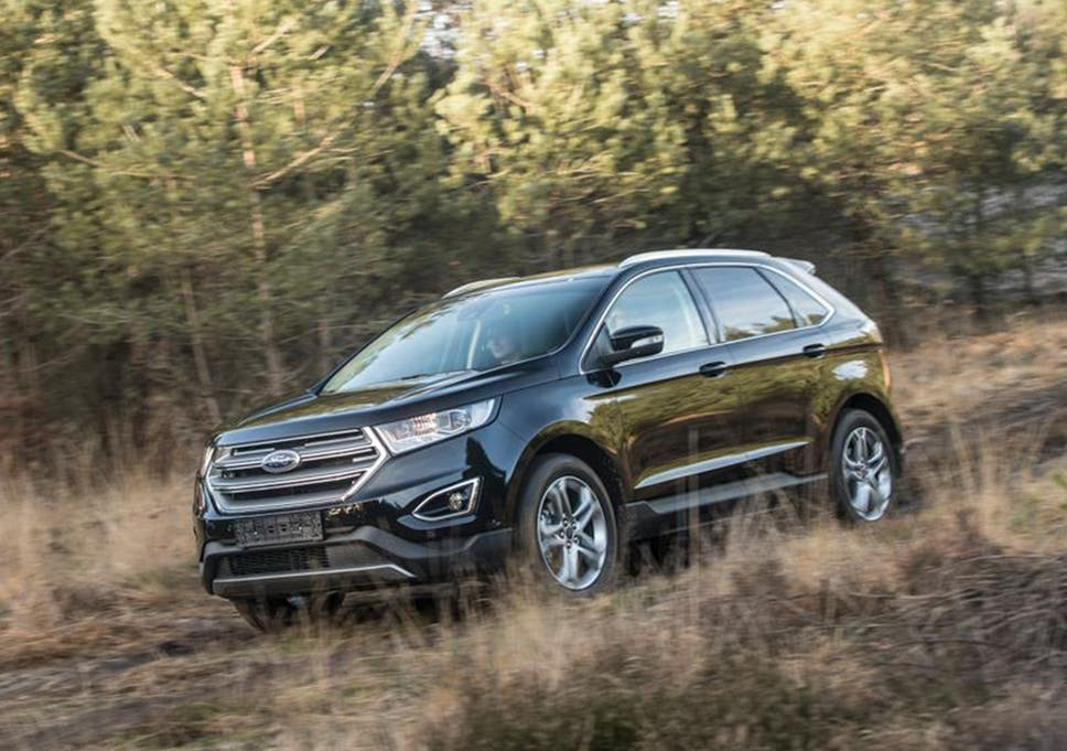 Ford Edge   Car Review Forthcoming Suv Shows What It Can Do Off Road