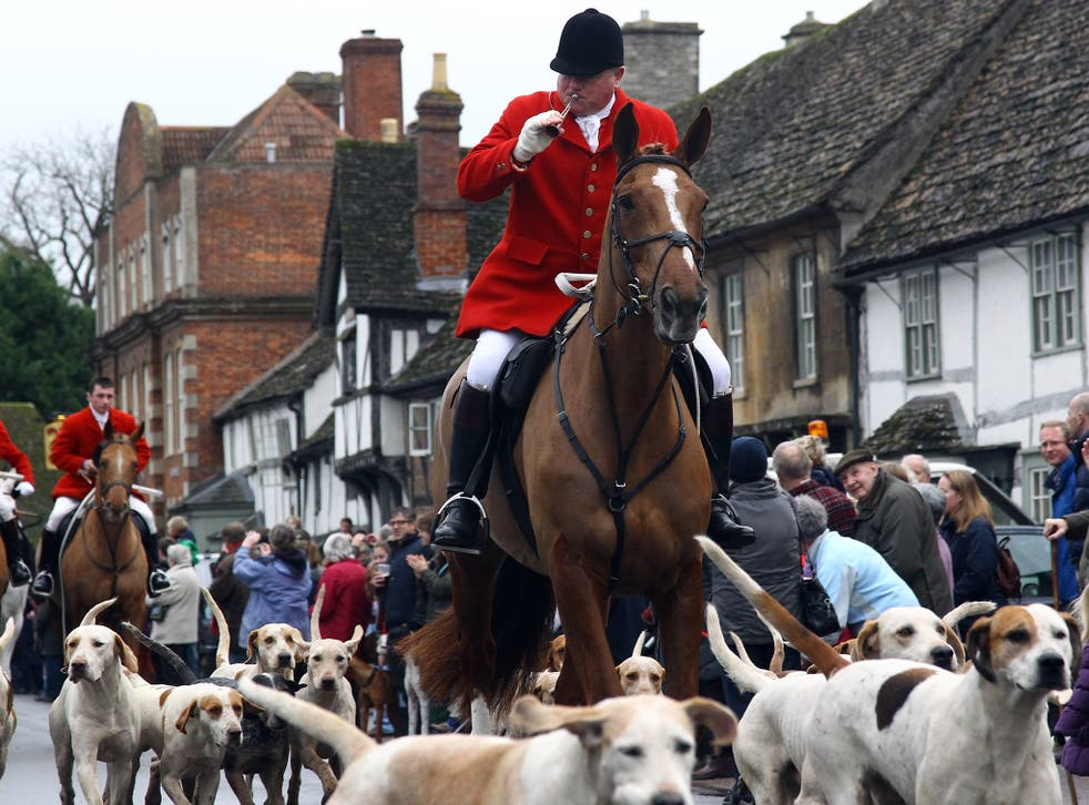 Jeremy Corbyn has previously called fox hunting 'barbaric' and vowed to maintain the hunting ban