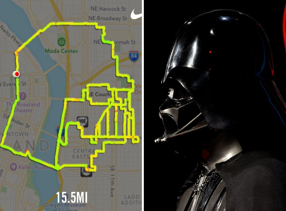 Gene Lu's portfolio boasts images of Darth Vader, a Stormtrooper and even a TIE fighter
