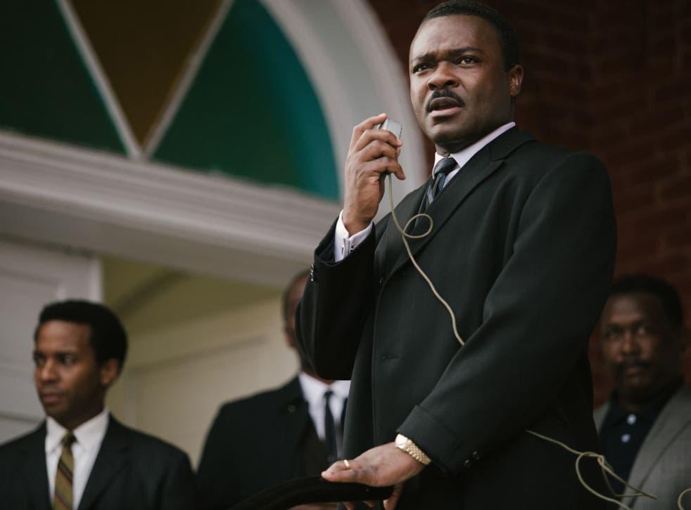 David Oyelowo played Martin Luther King in the film Selma