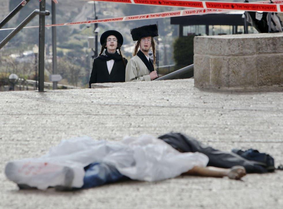 An alleged attacker shot dead by Israeli police in Jerusalem on Saturday