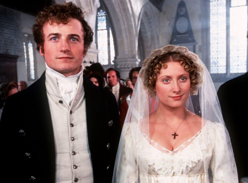 Crispin Bonham-Carter as Mr Bingley with Susannah Harker as Jane