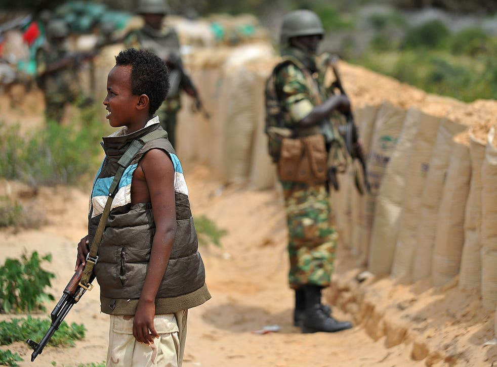 Aid agencies now estimate that there are around 300,000 children involved with armed groups worldwide