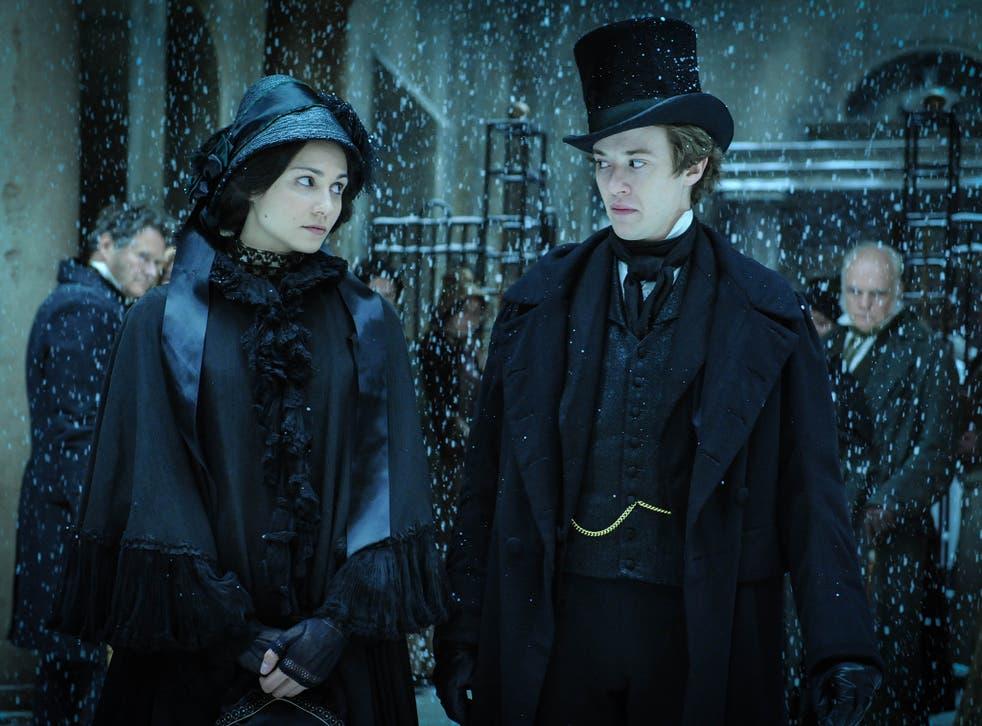 Tuppence Middleton as Miss Havisham with Joseph Quinn's Arthur Havisham in Tony Jordan's excellent 'Dickensian'