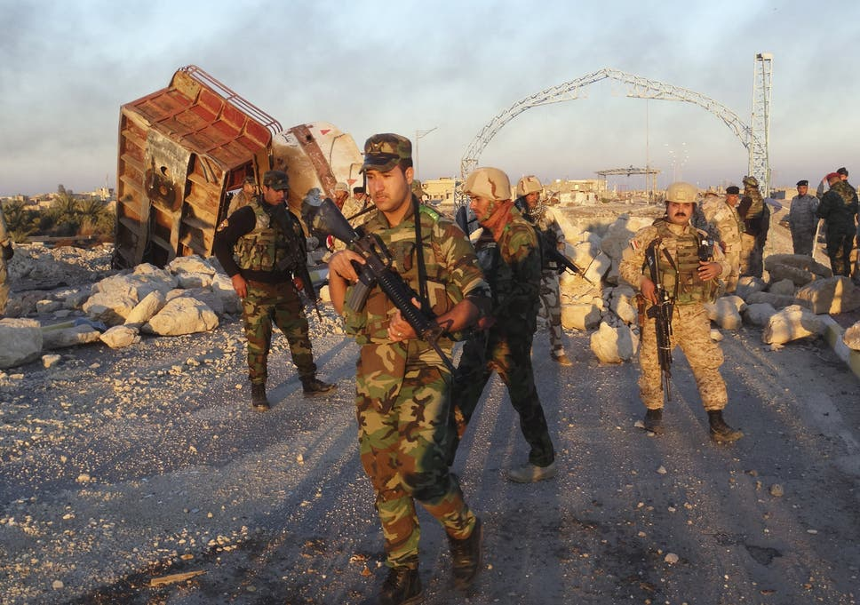 Isis in Ramadi: Militants on verge of defeat as Iraqi forces