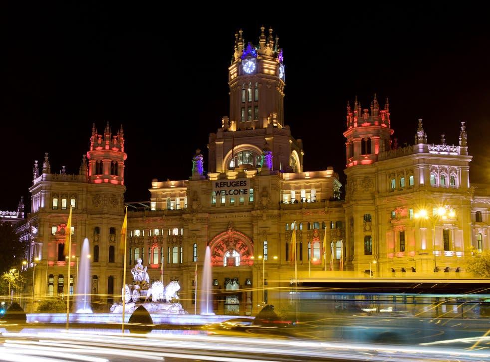 The event was hosted in Madrid's Palacio de Cibeles