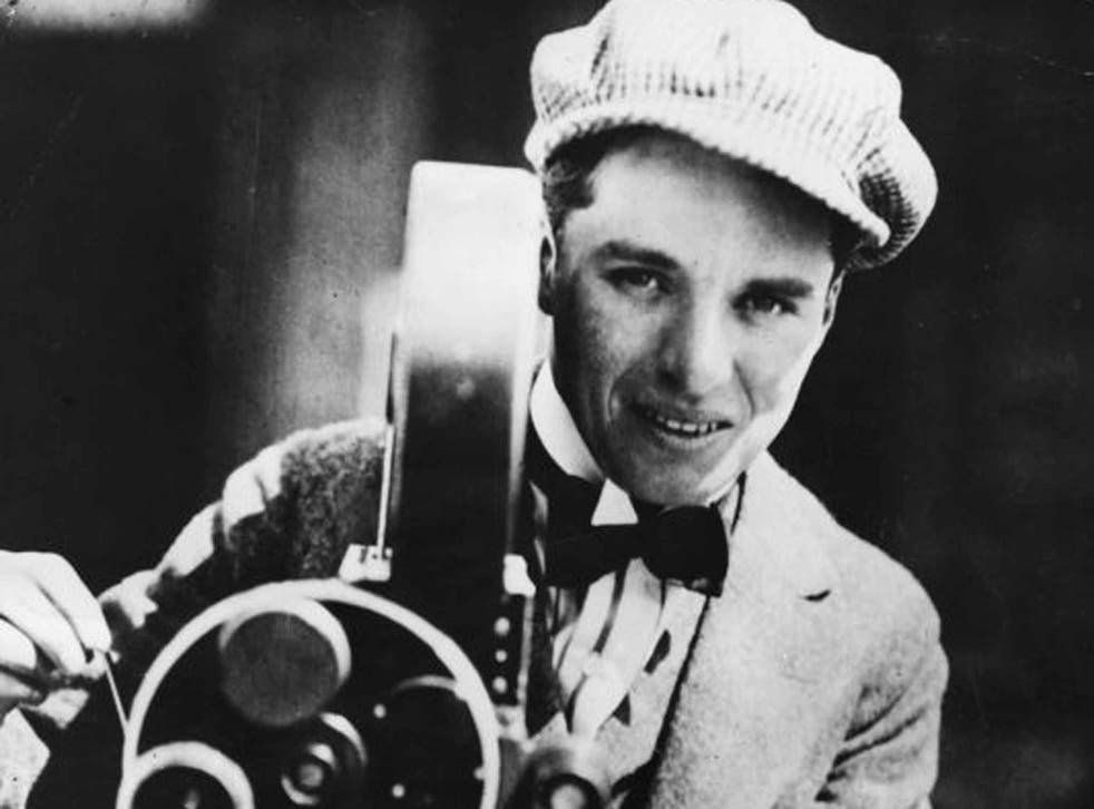 Direct delivery: First World War movie favourite Charlie Chaplin