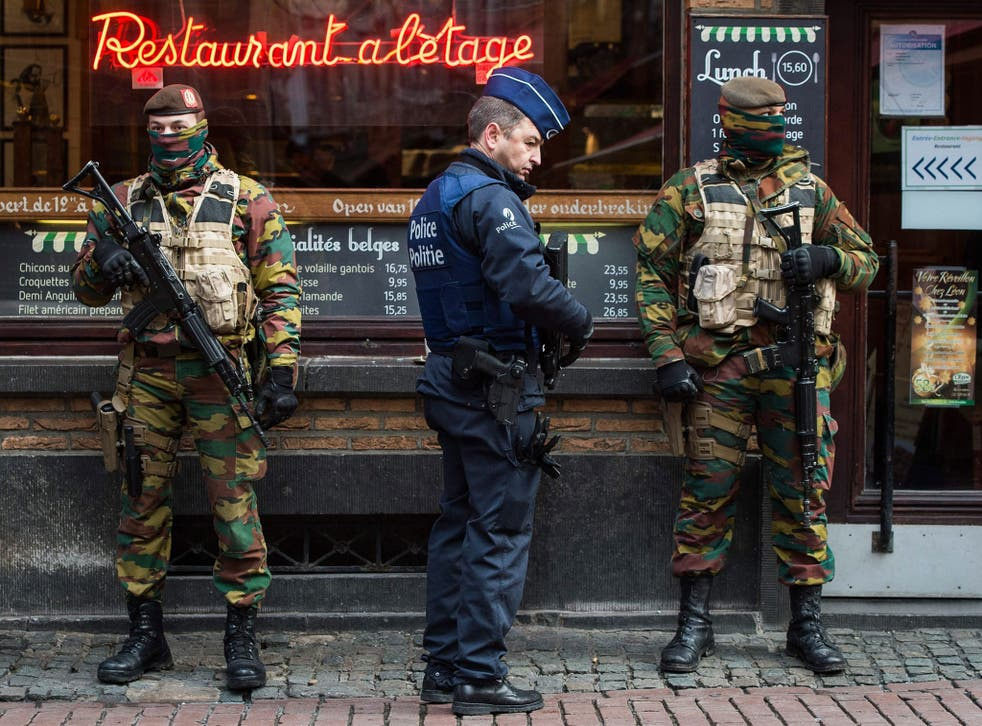 Police conducted searches on Sunday and Monday in Brussels, Liege and Flemish Brabant