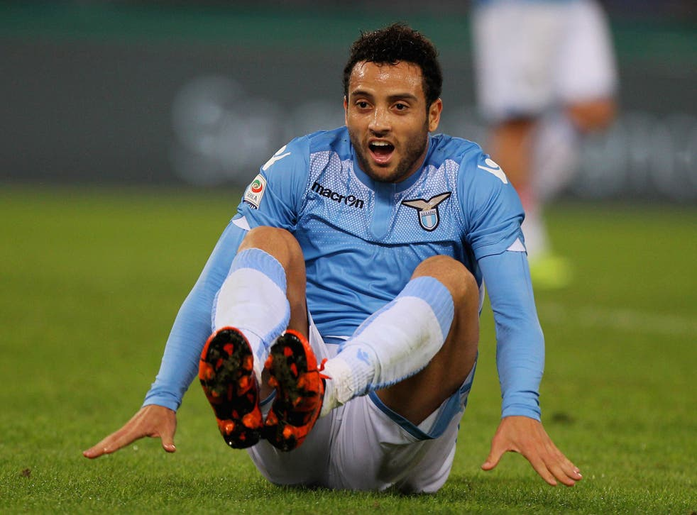 Lazio midfielder Felipe Anderson is being linked with Manchester United