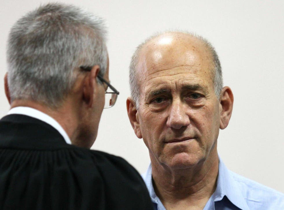 Olmert will begin serving his reduced sentence on 15 February