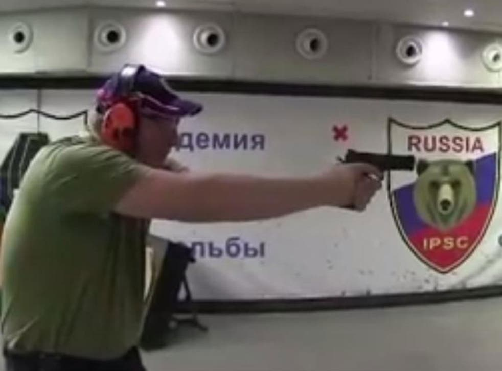 Dmitry Rogozin, the Russian Deputy Prime Minister, posted footage of himself at a shooting range online in December
