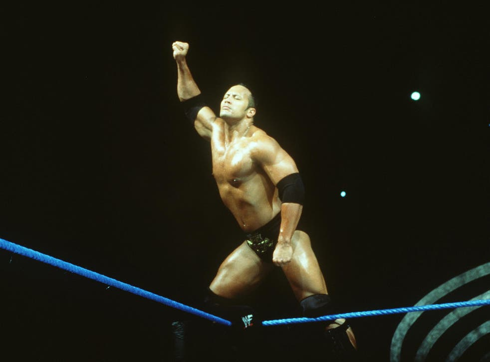 The Rock pictured in 2000